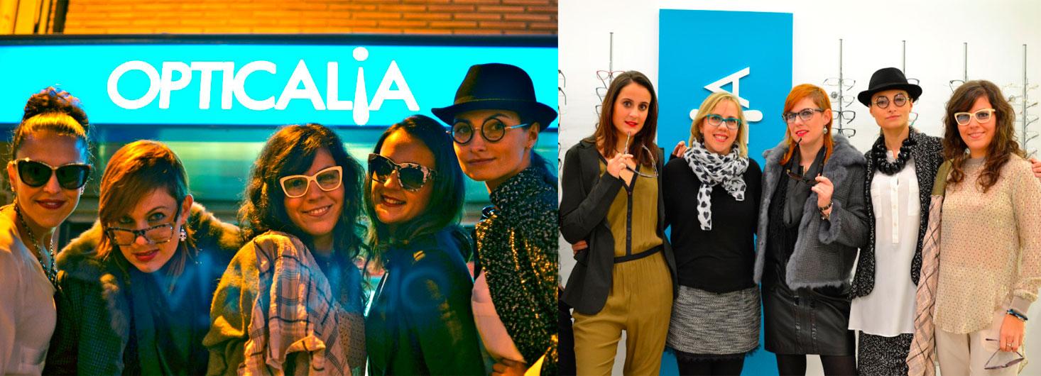 desfile de moda en opticalia denia